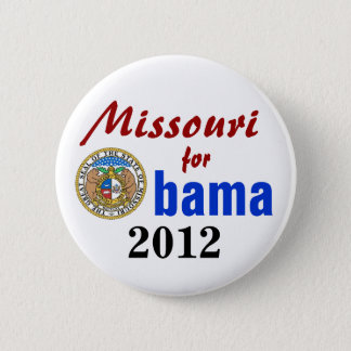 Missouri for Obama 2012 6 Cm Round Badge