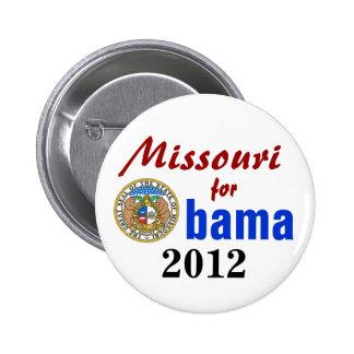 Missouri for Obama 2012 6 Cm Round Badge