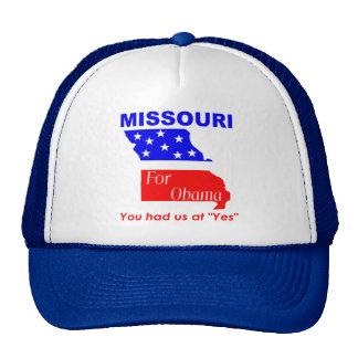 Missouri for Obama Cap