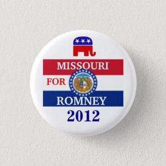 MISSOURI  for Romney 2012 3 Cm Round Badge