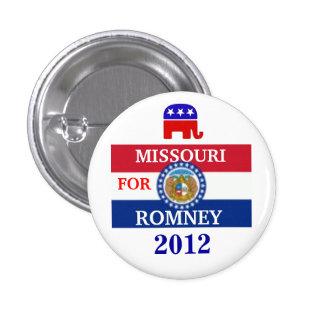 MISSOURI for Romney 2012 Button