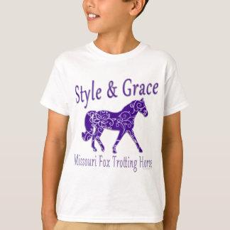 Missouri Fox Trotting Horse Style & Grace T-Shirt
