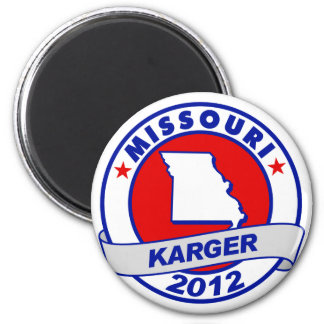 Missouri Fred Karger 6 Cm Round Magnet