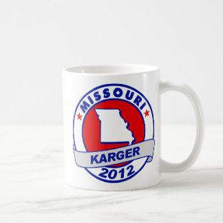 Missouri Fred Karger Basic White Mug