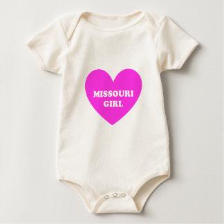 Missouri Girl Baby Bodysuit