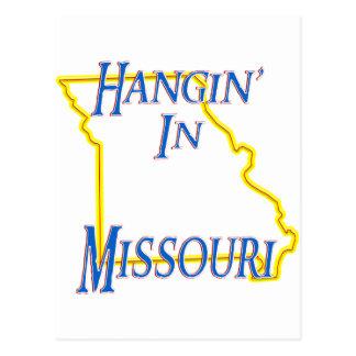 Missouri - Hangin' Postcard