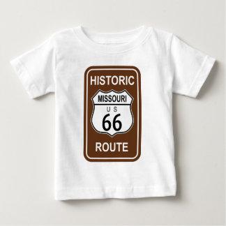 Missouri Historic Route 66 Baby T-Shirt