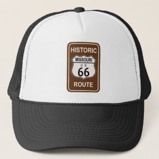 Missouri Historic Route 66 Trucker Hat