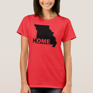 Missouri Home Away From State T-Shirt Tees
