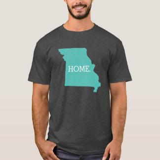 Missouri Home State Aqua T-Shirt