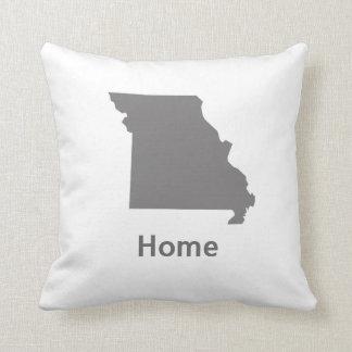 Missouri Home Throw Pillow