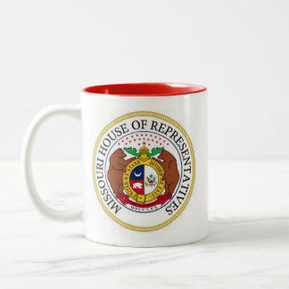 MISSOURI HOUSE of REPRESENTATIVES Two-Tone Coffee Mug