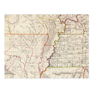 Missouri, Ill, Ky, Tenn, Ala, Miss, Ark Postcard