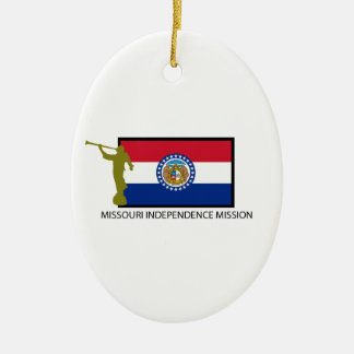 MISSOURI INDEPENDENCE MISSION LDS CTR CHRISTMAS ORNAMENT