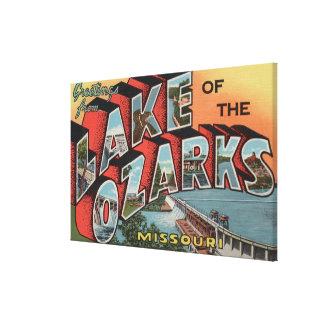 Missouri - Lake of the Ozarks Canvas Print