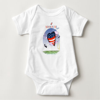 missouri loud and proud, tony fernandes baby bodysuit