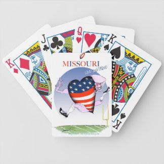 missouri loud and proud, tony fernandes poker deck