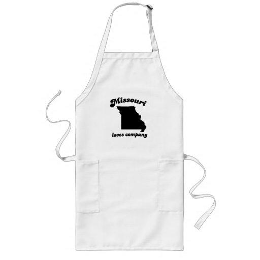 Missouri loves company long apron