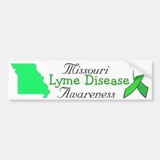 Missouri Lyme Disease Awareness Bumper Sticker