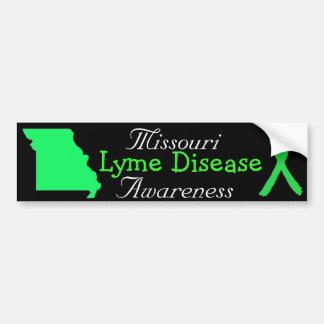 Missouri Lyme Disease Ribbons Bumper Sticker
