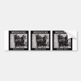 Missouri Mule Bumper Sticker