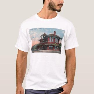 Missouri Pacific Railroad Depot T-Shirt