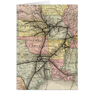 Missouri Pacific Railway Card