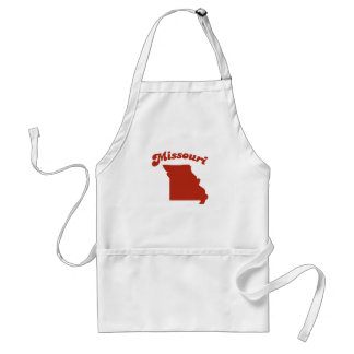 MISSOURI Red State Adult Apron