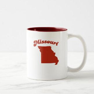 MISSOURI Red State Two-Tone Mug