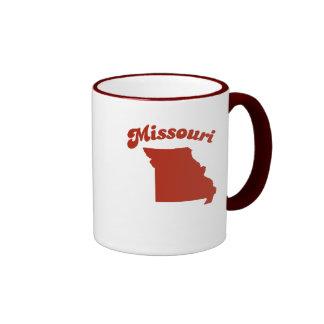 MISSOURI Red State Ringer Mug