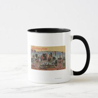 Missouri (Seein's Believin') - Large Letter Mug