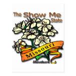 Missouri Show Me State Hawthorn Postcard