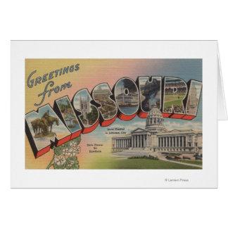 Missouri (State Capital/Flower) Card