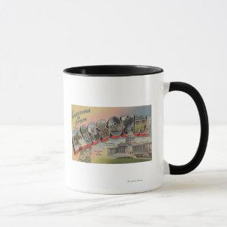Missouri (State Capital/Flower) Mug