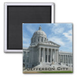Missouri State Capitol Square Magnet