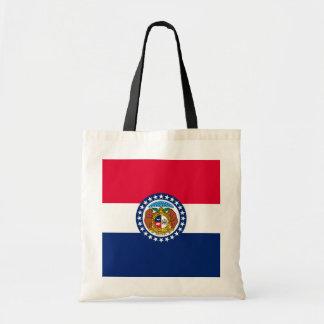 Missouri State Flag Design Budget Tote Bag