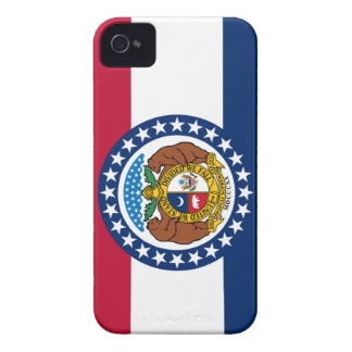 Missouri state flag iPhone 4 cases