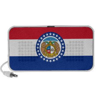 Missouri State Flag Laptop Speakers