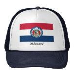 Missouri State Flag Mesh Hat