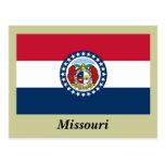 Missouri State Flag Postcards