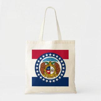 Missouri State Flag Budget Tote Bag