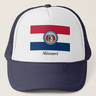 Missouri State Flag Trucker Hat