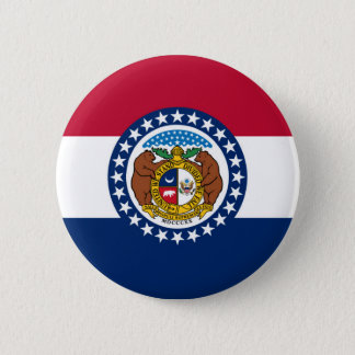 Missouri state flag usa united america symbol 6 cm round badge