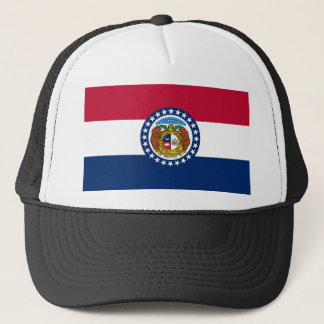Missouri state flag usa united america symbol trucker hat