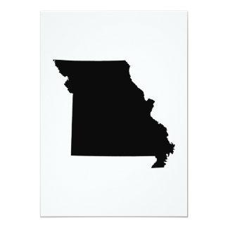 Missouri State Outline Custom Announcements