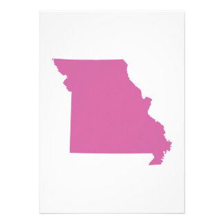 Missouri State Outline Invitation