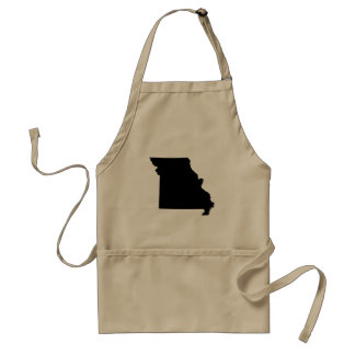 Missouri State Outline Standard Apron