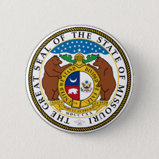 Missouri State Seal 6 Cm Round Badge