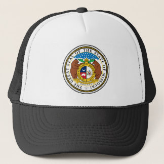 Missouri state seal america republic symbol flag trucker hat