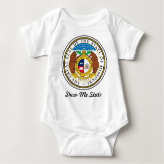 Missouri State Seal and Motto Baby Bodysuit